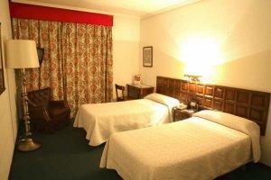 Habitaciones del Hotel Monclus en Palencia